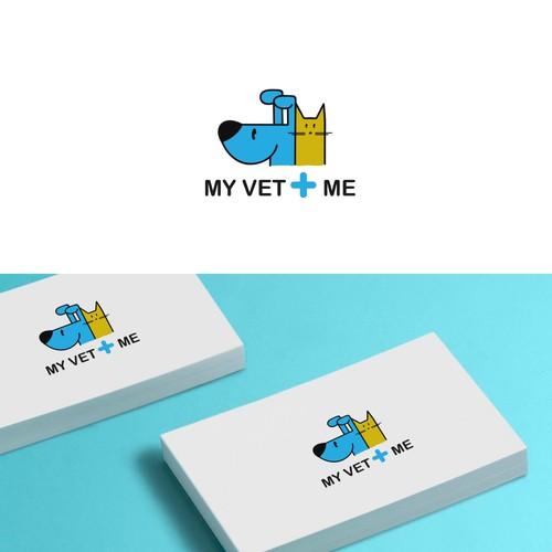 Conceito de Logotipo para blog veterinário