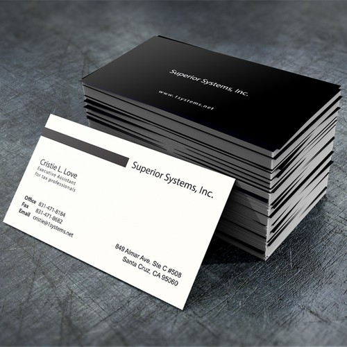 Help Superior Systems, Inc. with a new stationery