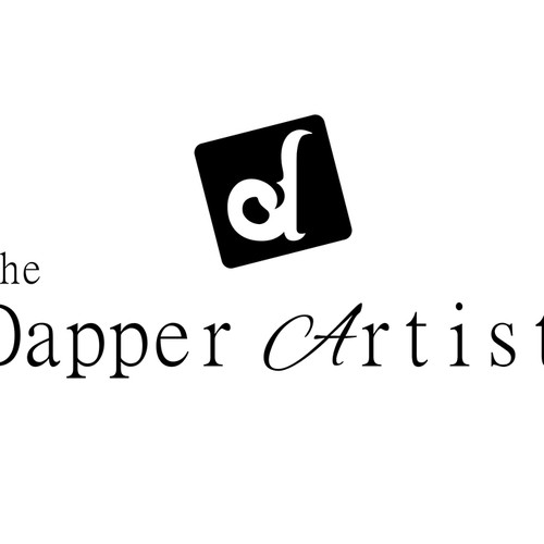 Create an elegant logo for art products
