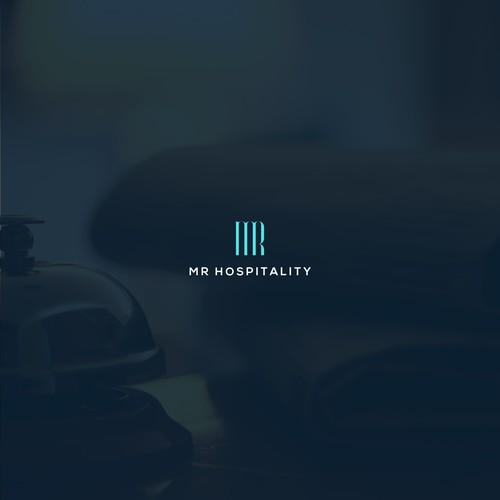 luxury logo for boutique hospitality company.