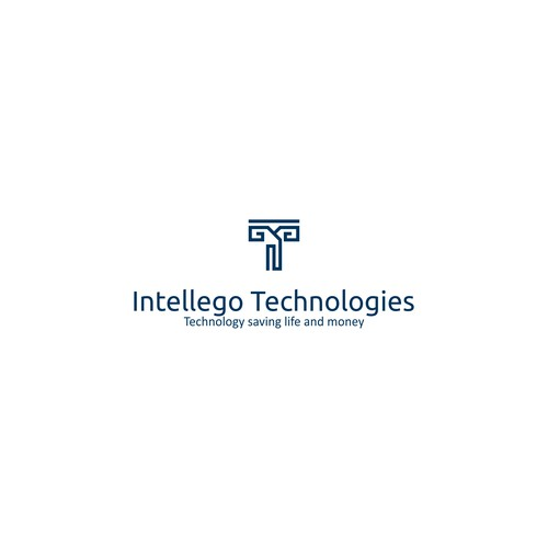 geometric Logo for Intellego Technologies