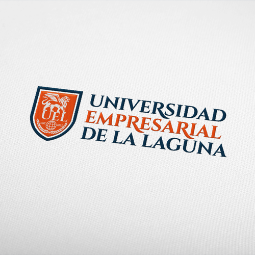 University logo branding