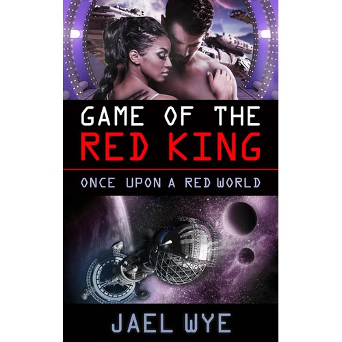 Create an exciting ebook cover for science fiction romance author Jael Wye