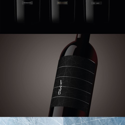 Wine label inspired by Stanley Cup
