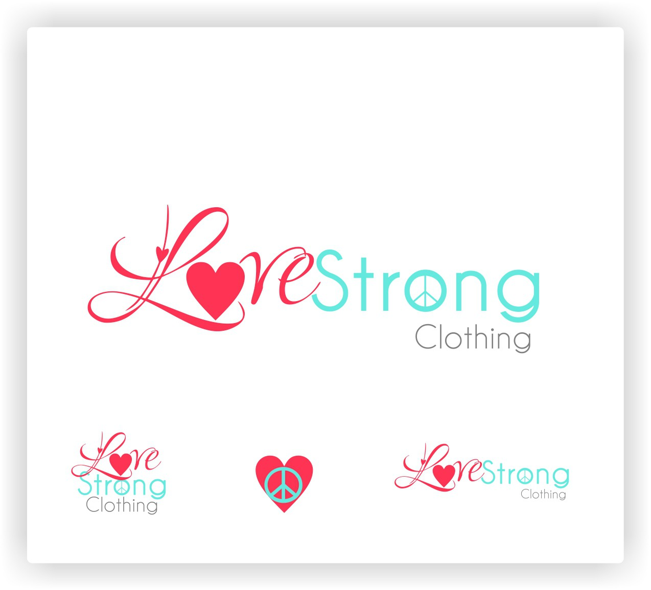 Help LoveStrong Clothing with a new logo