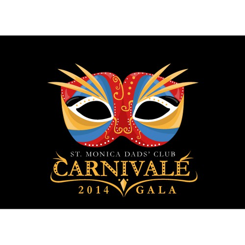 "Help St. Monica Dads' Club - 2014 Gala - ""Carnivale""  with a new LOGO or GRAPHIC"