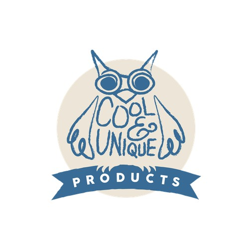 Cool & Unique Products Logo