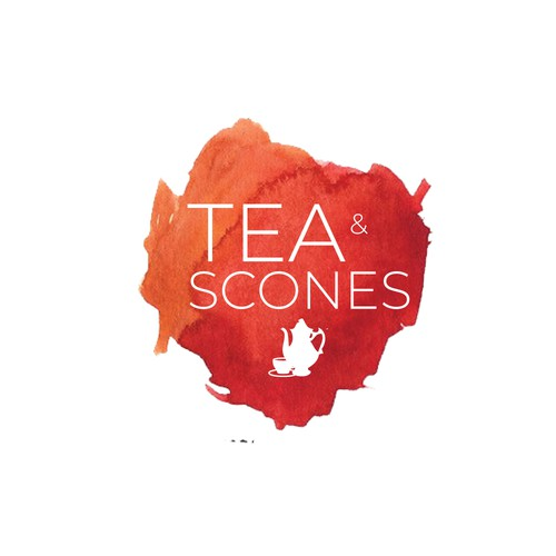 Logo design Tea and Scones
