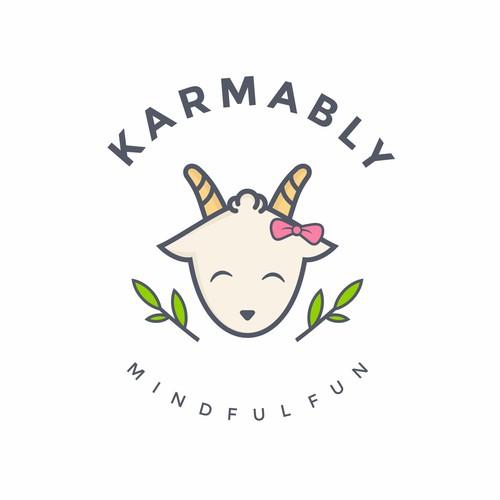 Cute Goat Logo