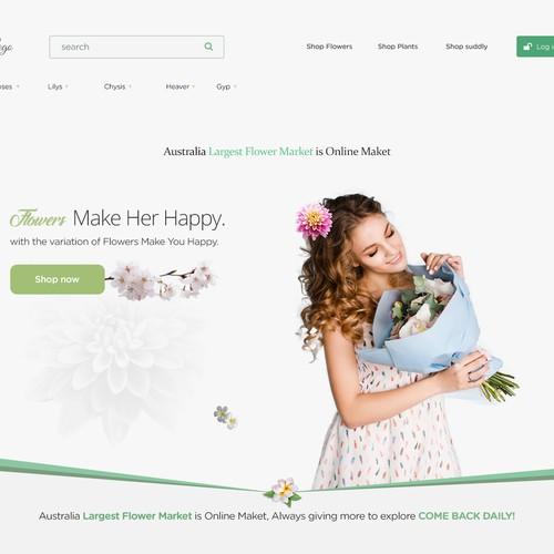 Clean Flowers Website 3