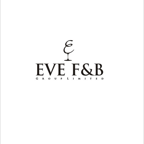 logo for restaurant who sell wine and food