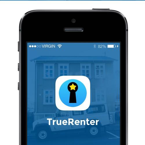 TrueRenter app icon logo
