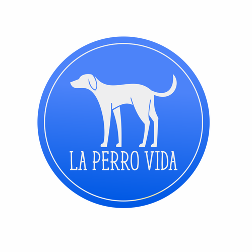 Modern, clean logo for new dog rescue fundraising e-commerce brand.