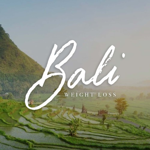 Handlettered logo design for Bali Weight Loss