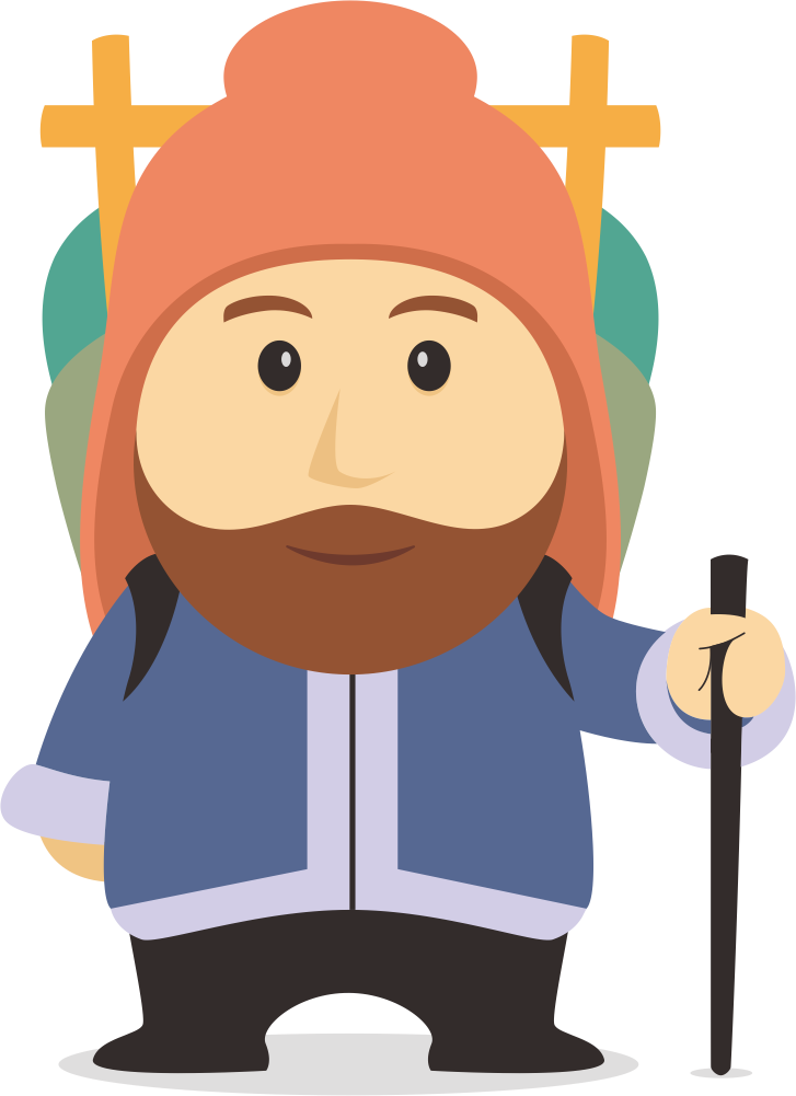 We need a Sherpa Mascot for our company logo
