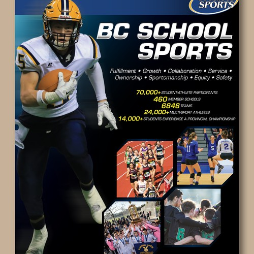 Flyer for BCS Sports
