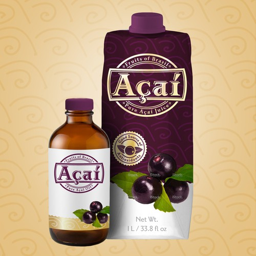 Acai Berry Packaging
