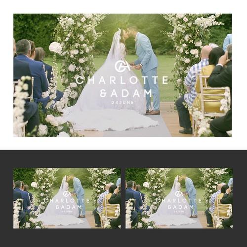 wedding thumbnail desing