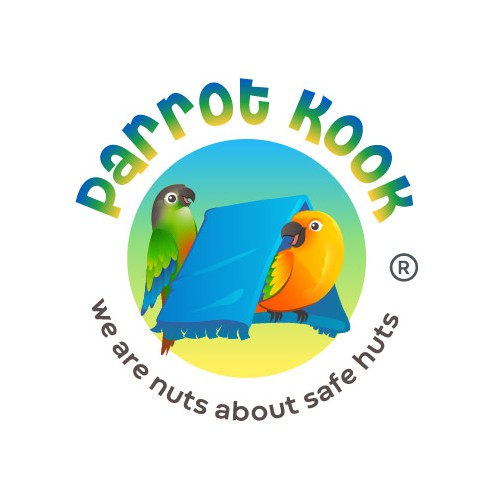 Parrot Kook logo design