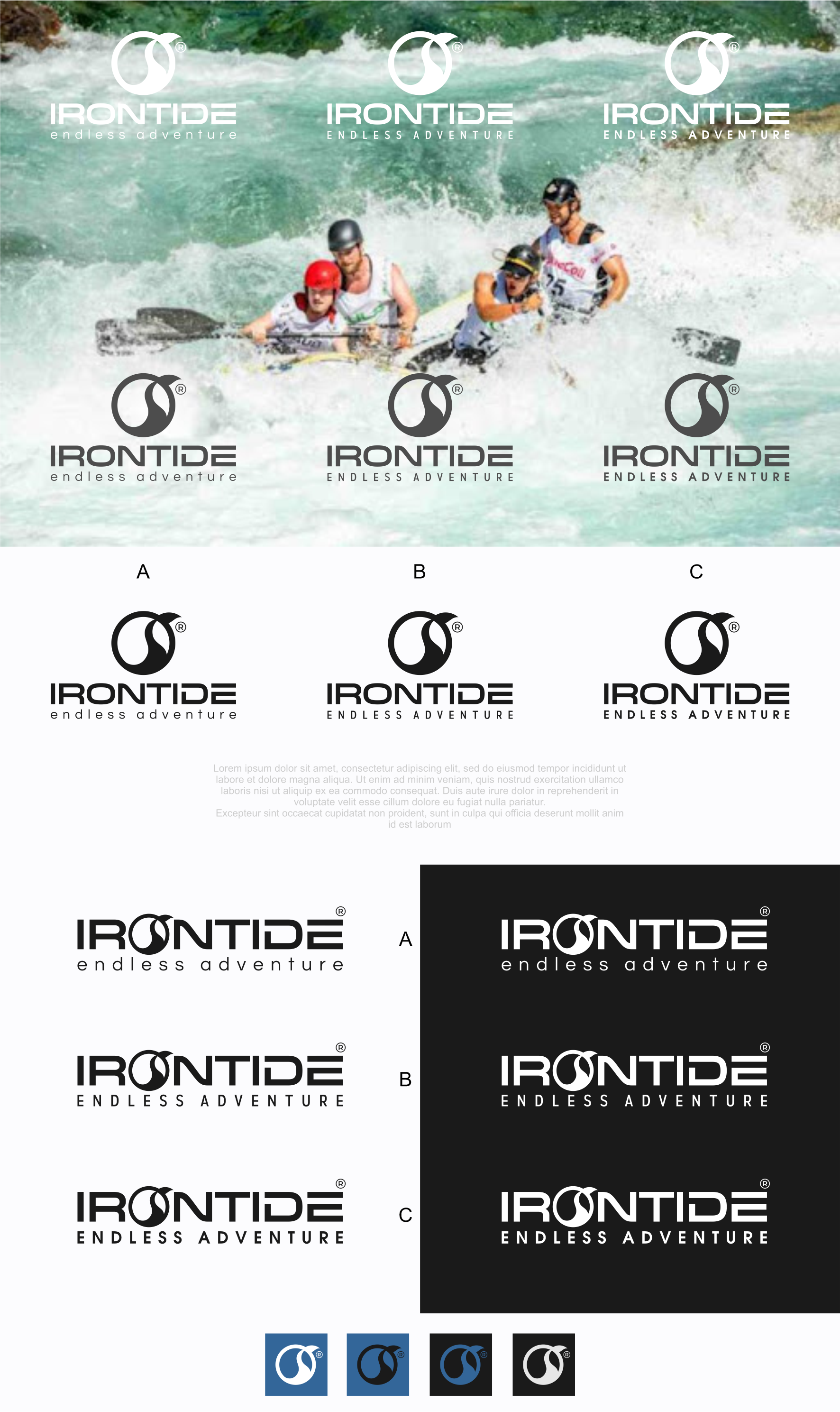 Irontide--Create a logo for our outdoor sports and apparel brand!