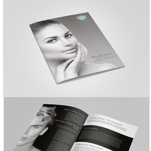Skin Treatment Brochure Design