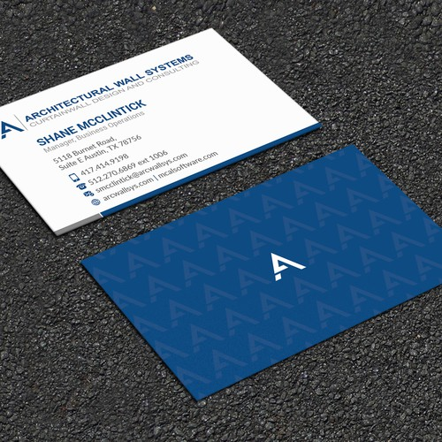 Engineering Firm in need of powerful business card