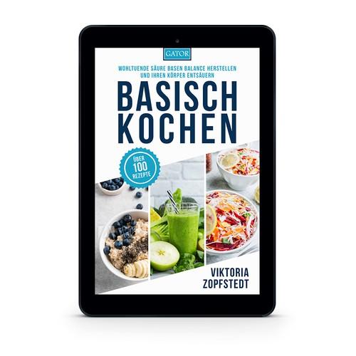 Ebook cover for Alkaline Recipes Cookbook