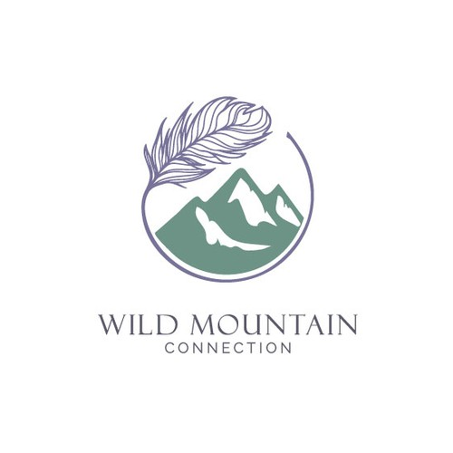 Logo for a company that creates unique outdoor experiences for everyone, encouraging connection to Mother Nature, to each other, and to ourselves.
