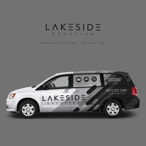 Lakeside Car Branding