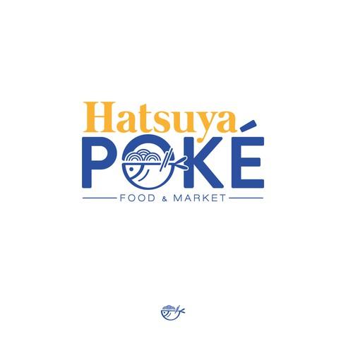 Hatsuya Poké Logo