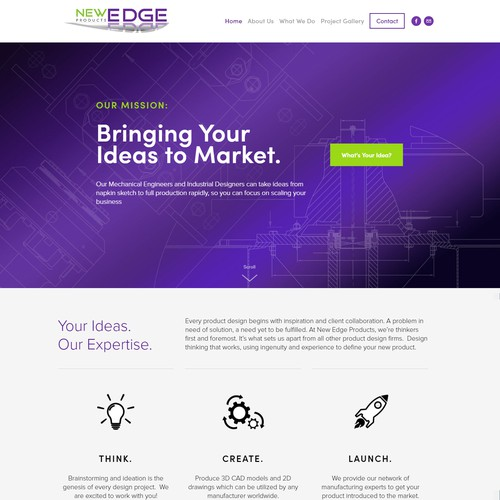 Web Design for Product Engineering