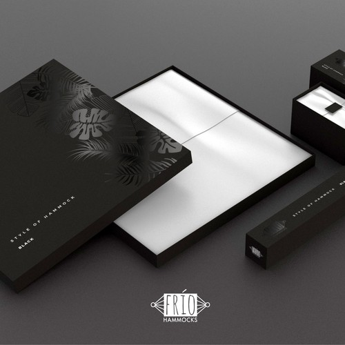 HAMMOCKS package design