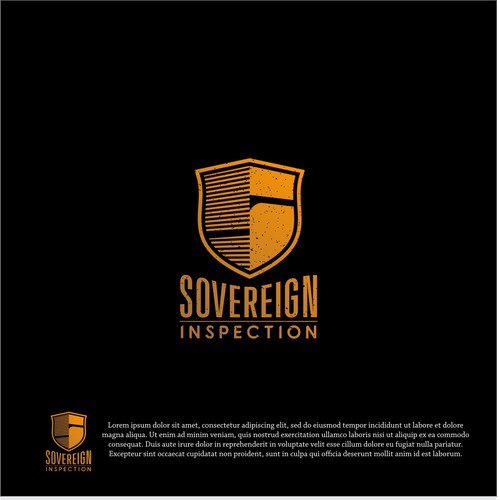 logo concept for Sovereign inspection