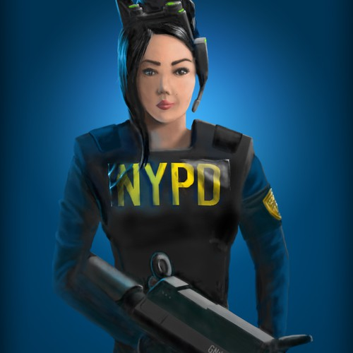 NYPD girl