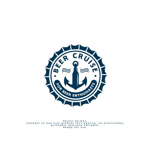 Logo for Beer Cruise Event