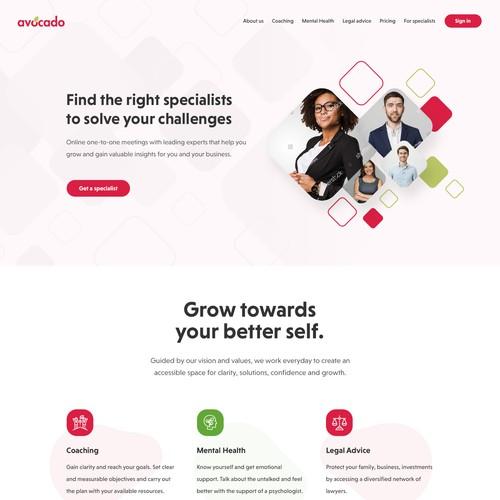 Avocado webdesign