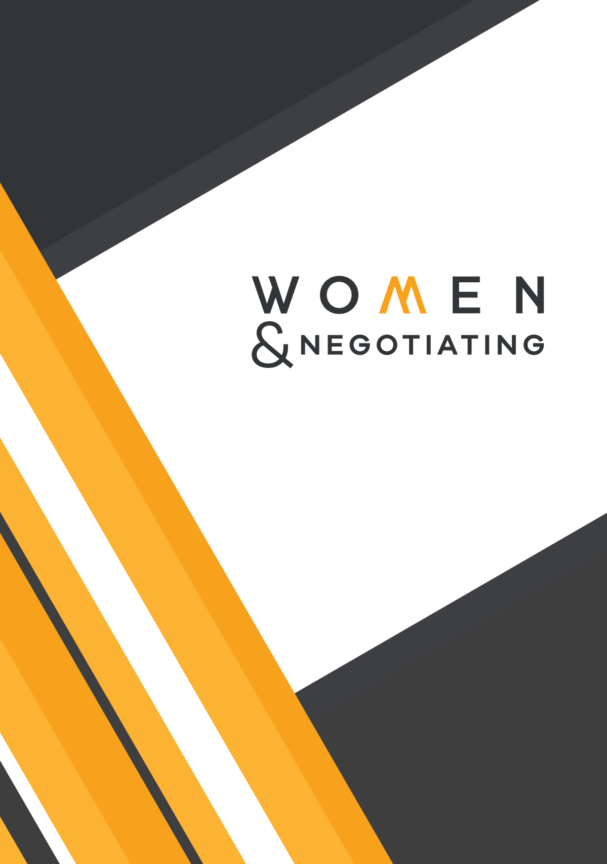 Restyling project brochure Women & Negotiating