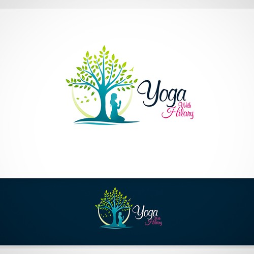 Yoga with Hilary Logo