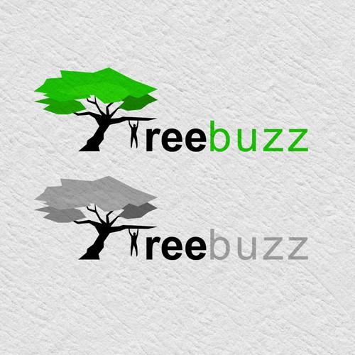 Logo design concept for TreeBuzz.
