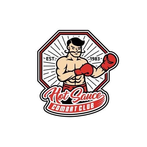 Combat Club HotSauce UFC logo