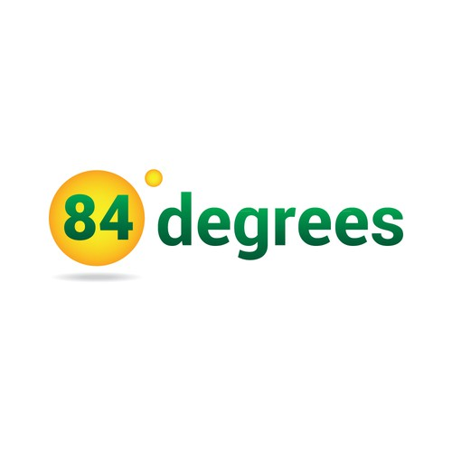 84 degrees