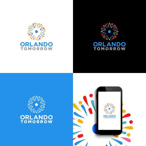 logo for Orlando Tomorrow