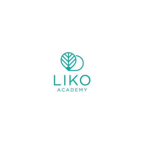Bold logo concept for Liko Academy