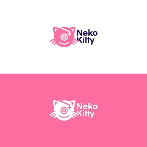 Logo Concept for Neko Kitty
