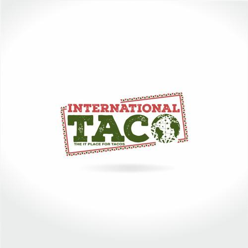Logo design for International Taco