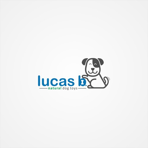 Logo concept for all-natural dog toys