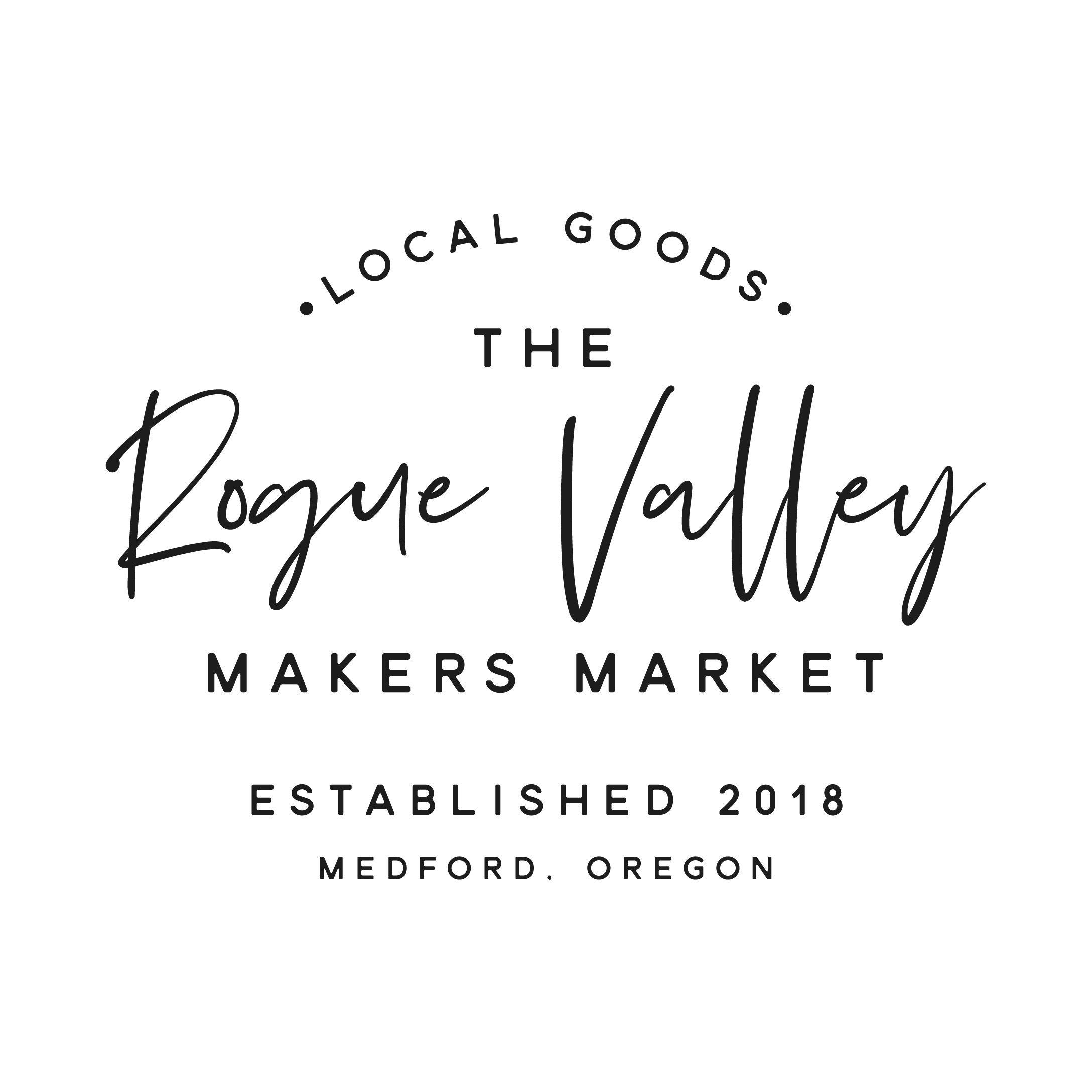 Design a stampable dreamy store front logo The Rogue Valley market!