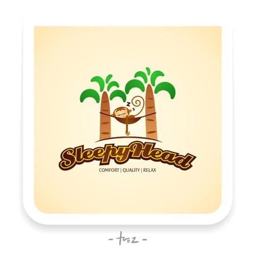 """Sleepy Head"" Brand - Logo for Home Textile Company"