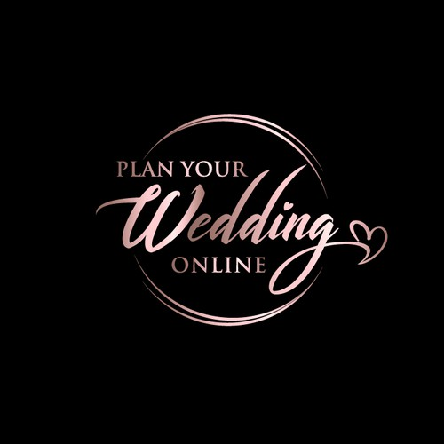 Logo for online wedding planning course