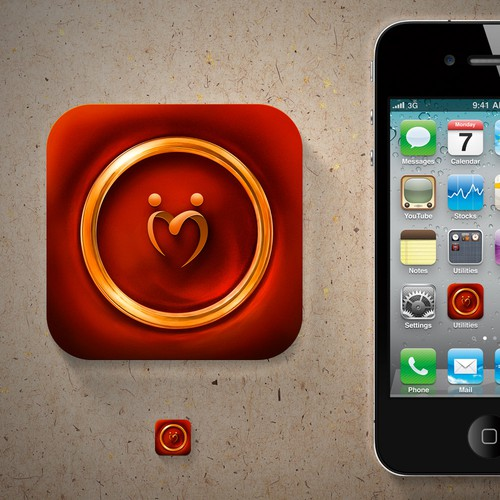 icon or button design for My Indian Wedding App